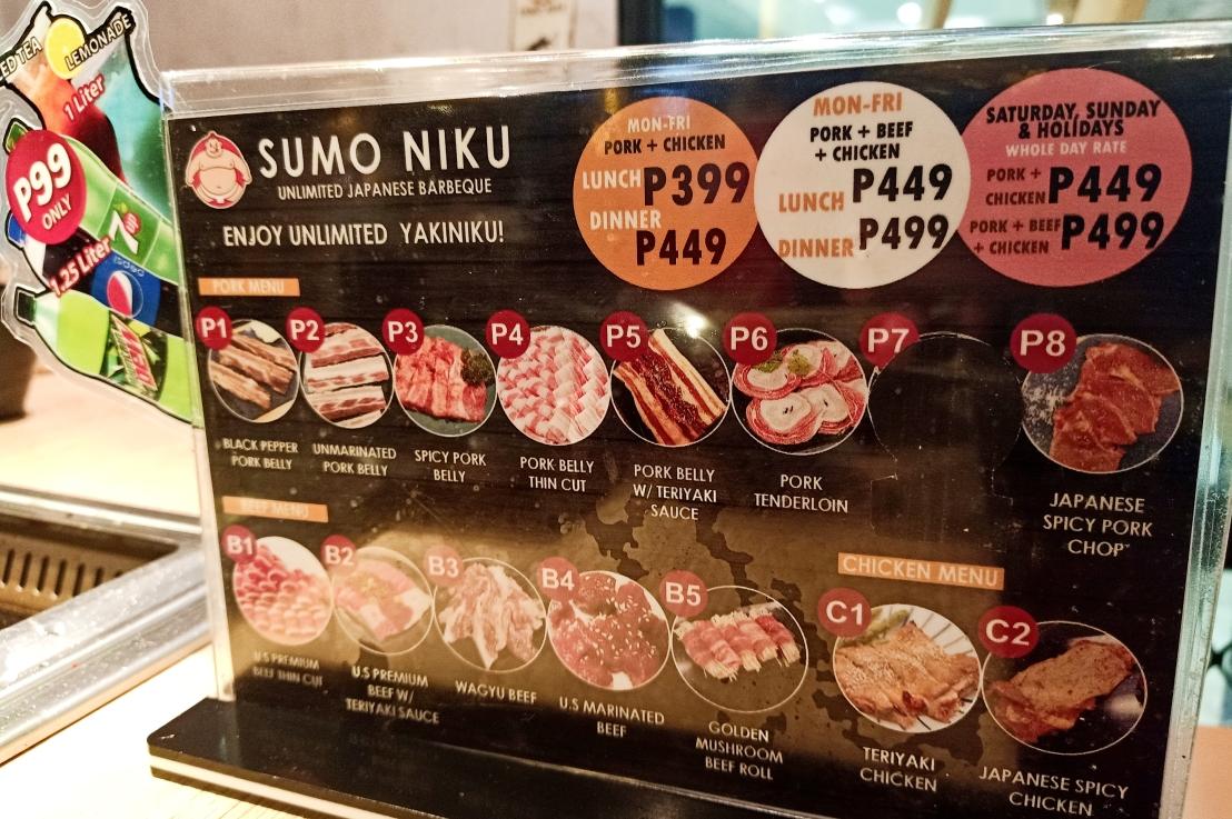 Sumo Niku Unlimited Japanese Yakiniku @ Southmall07.13.2019