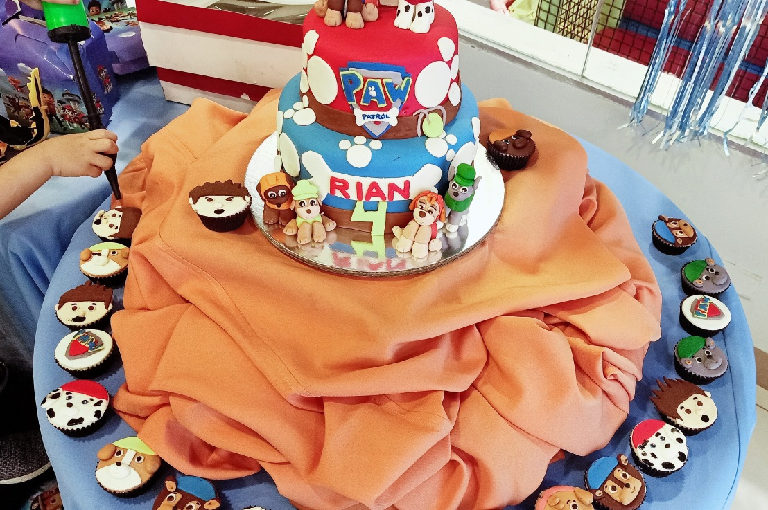 Rian's 4th Birthday Cake